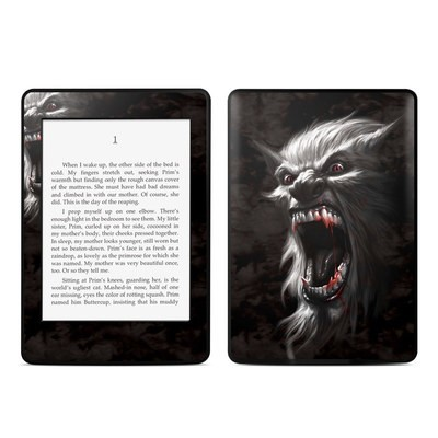 Amazon Kindle Paperwhite Skin - Wolfman