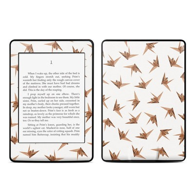Amazon Kindle Paperwhite Skin - Wood Origami