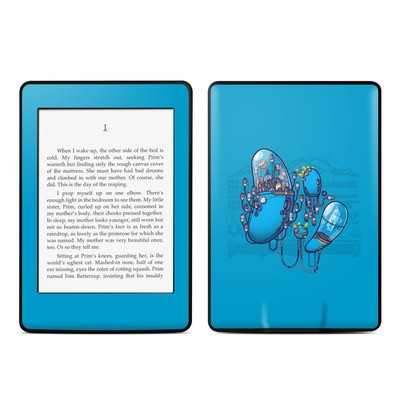 Amazon Kindle Paperwhite Skin - Workflow