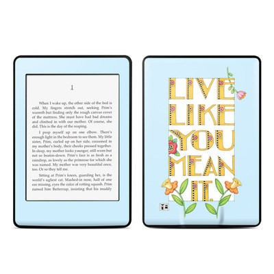 Amazon Kindle Paperwhite Skin - Mean It
