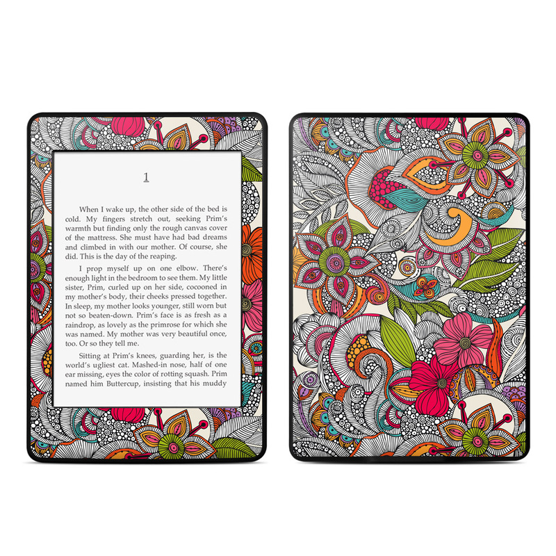 Amazon Kindle Paperwhite Skin Doodles Color By Valentina