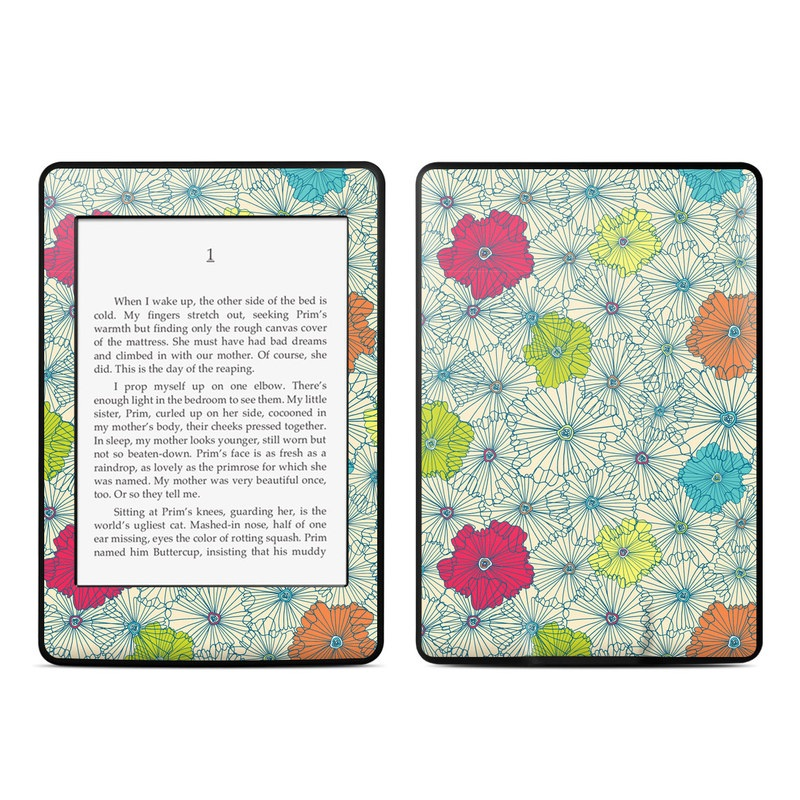 Calendar Girl May Kindle : Amazon kindle paperwhite skin may flowers by susan