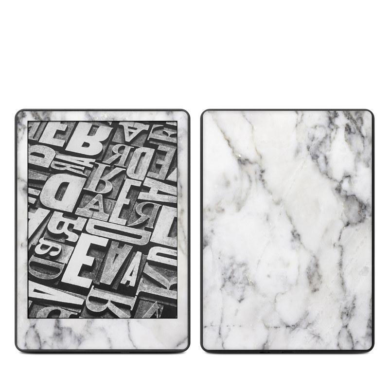 Amazon Kindle Paperwhite Skin - White Marble