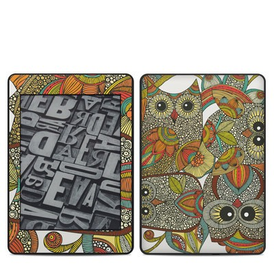 Amazon Kindle Paperwhite 2018 Skin - 4 owls