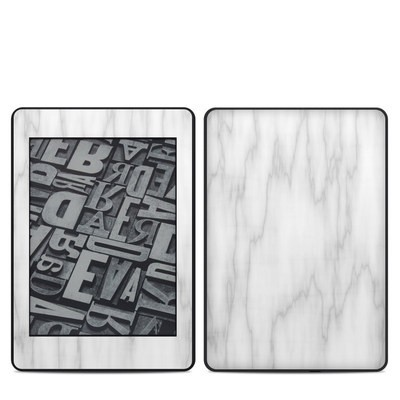 Amazon Kindle Paperwhite 2018 Skin - Bianco Marble