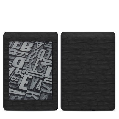 Amazon Kindle Paperwhite 2018 Skin - Black Woodgrain