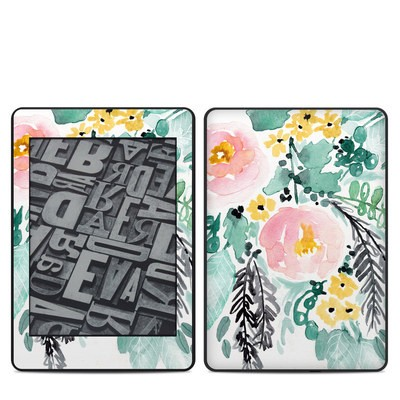 Amazon Kindle Paperwhite 2018 Skin - Blushed Flowers