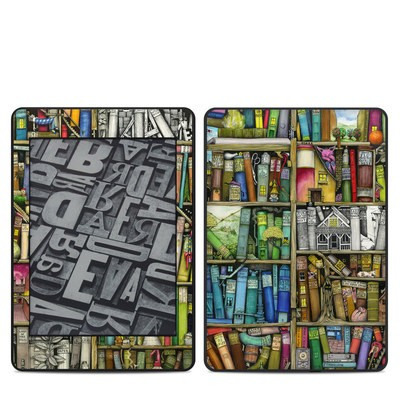 Amazon Kindle Paperwhite 2018 Skin - Bookshelf