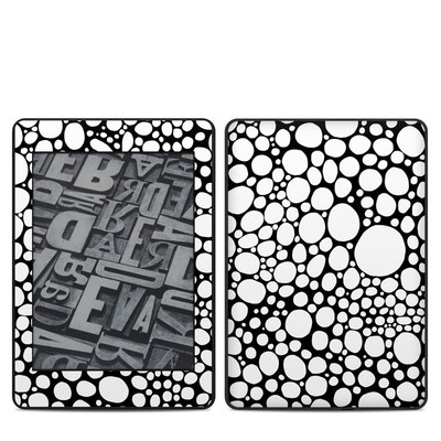 Amazon Kindle Paperwhite 2018 Skin - BW Bubbles