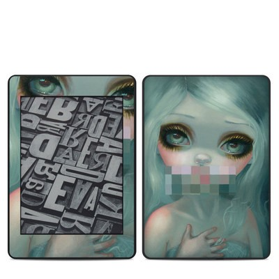 Amazon Kindle Paperwhite 2018 Skin - Censored Smile