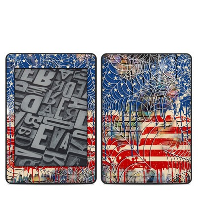 Amazon Kindle Paperwhite 2018 Skin - Cobweb Flag