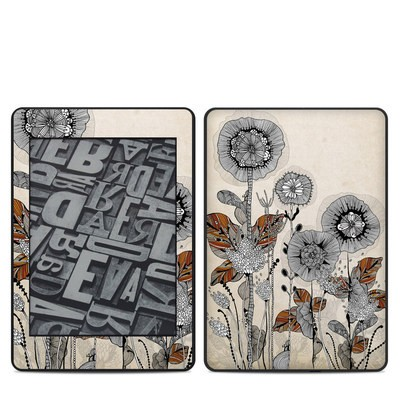 Amazon Kindle Paperwhite 2018 Skin - Four Flowers