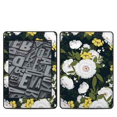 Amazon Kindle Paperwhite 2018 Skin - Fleurette Night