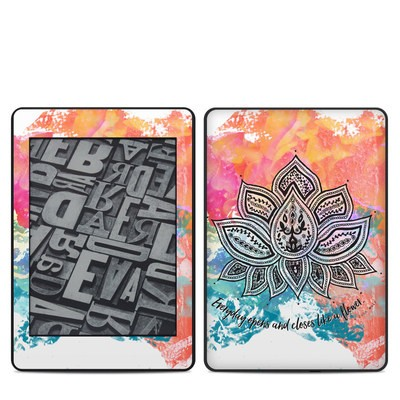Amazon Kindle Paperwhite 2018 Skin - Happy Lotus