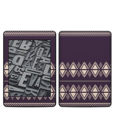 Amazon Kindle Paperwhite 2018 Skin - Plum Cozy