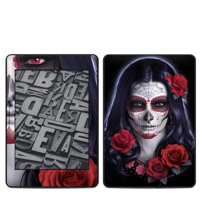 Amazon Kindle Paperwhite 2018 Skin - Sugar Skull Rose