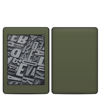 Amazon Kindle Paperwhite 2018 Skin - Solid State Olive Drab