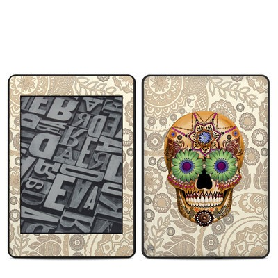 Amazon Kindle Paperwhite 2018 Skin - Sugar Skull Bone