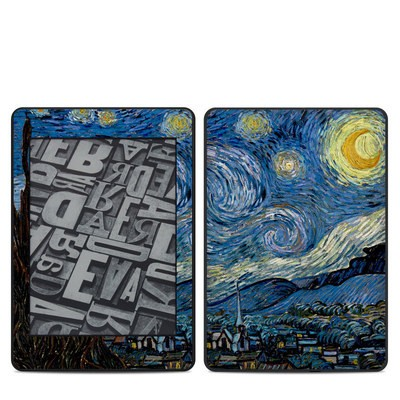 Amazon Kindle Paperwhite 2018 Skin - Starry Night