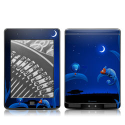 Kindle Touch Skin - Alien and Chameleon