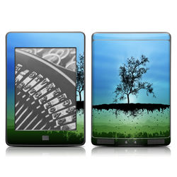Kindle Touch Skin - Flying Tree Blue