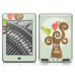 Kindle Touch Skin - Two Little Birds