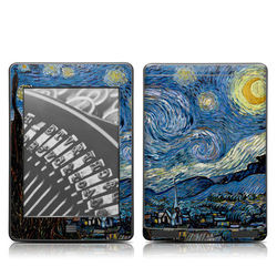 Kindle Touch Skin - Starry Night