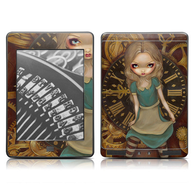 Kindle Touch Skin - Alice Clockwork