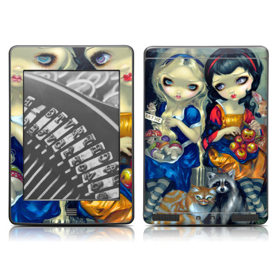 Kindle Touch Skin - Alice & Snow White