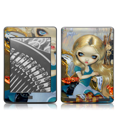 Kindle Touch Skin - Alice in a Dali Dream