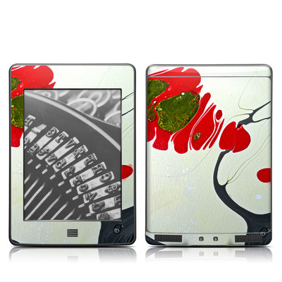 Kindle Touch Skin - Amoeba