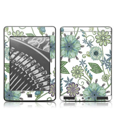 Kindle Touch Skin - Antique Nouveau