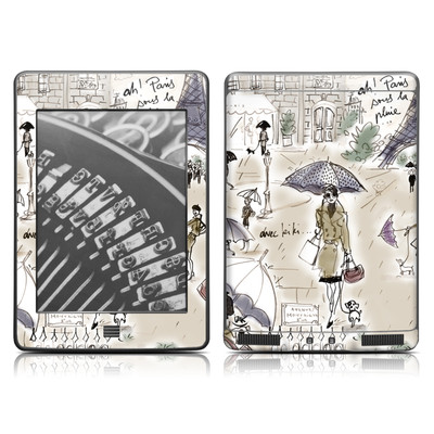 Kindle Touch Skin - Ah Paris