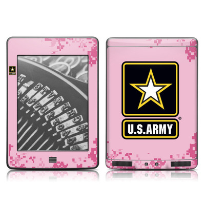 Kindle Touch Skin - Army Pink