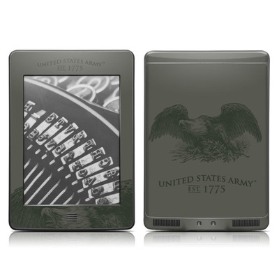Kindle Touch Skin - Army Crest