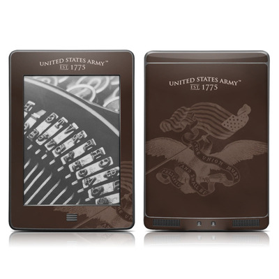 Kindle Touch Skin - Army Preserved