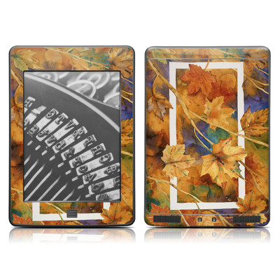 Kindle Touch Skin - Autumn Days