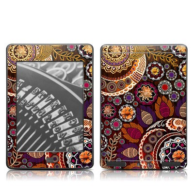 Kindle Touch Skin - Autumn Mehndi