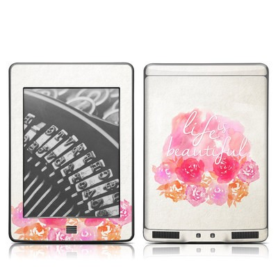 Kindle Touch Skin - Beautiful