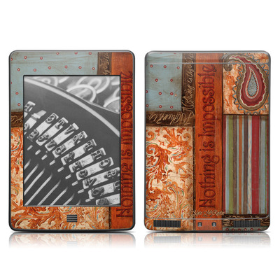 Kindle Touch Skin - Be Inspired