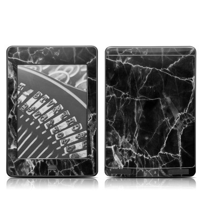 Kindle Touch Skin - Black Marble