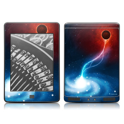 Kindle Touch Skin - Black Hole