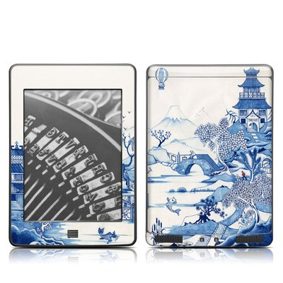 Kindle Touch Skin - Blue Willow