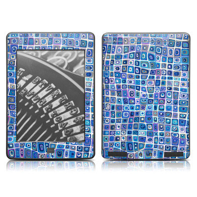 Kindle Touch Skin - Blue Monday