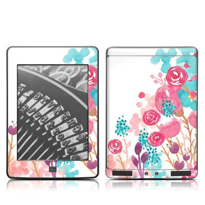 Kindle Touch Skin - Blush Blossoms