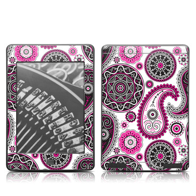 Kindle Touch Skin - Boho Girl Paisley