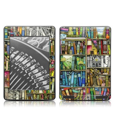 Kindle Touch Skin - Bookshelf