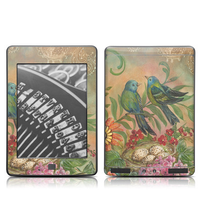 Kindle Touch Skin - Splendid Botanical