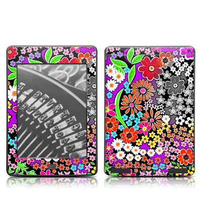 Kindle Touch Skin - A Burst of Color