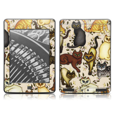 Kindle Touch Skin - Cats